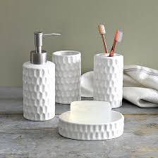 Bed And Bath Bath Accessories Shopko by White Honeycomb Bath Accessories Bathrooms Pinterest Bath