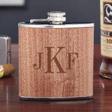 wooden flasks engraved flasks