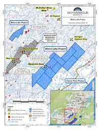 Map Of Saskatchewan Skyharbour Resources U0027 Announces Commencement Of 3 500 Metre