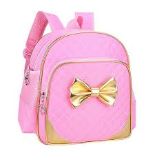 book bags with bows children school bags for school backpacks princess style