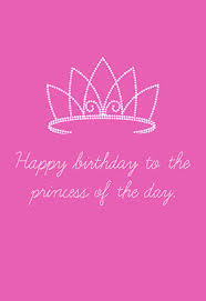 Birthday Princess Meme - the princess of the day printable card customize add text and