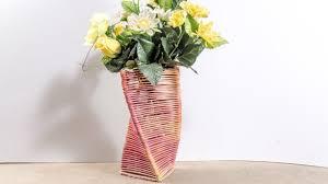 diy flower vase popsicle stick crafts ideas for home decor youtube diy flower vase popsicle stick crafts ideas for home decor