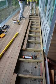Decks With Roofs Pictures by Detail U2013 Deck Waterproofing Home Building In Vancouver