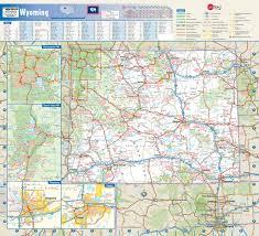 Cheyenne Map Wyoming State Map