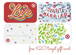 free 20 target gift card with wedding registry couponing 101