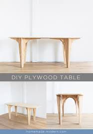 Plywood Design Homemade Modern Ep110 Plywood Table