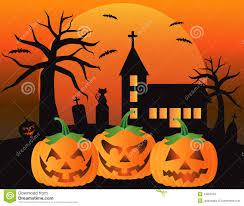 halloween jack o lantern pumpkins illustration royalty free stock