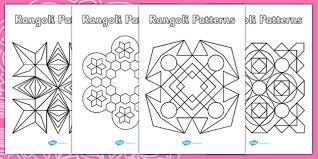 patterns templates diwali colouring patterns