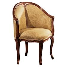 bureau style louis xv design toscano louis xv faultily de bureau barrel chair reviews