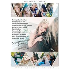 senior yearbook ad templates senior yearbook ads photoshop templates pennant high