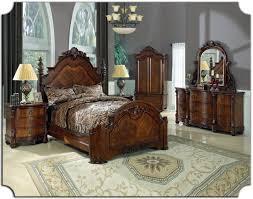 Traditional Bedroom Furniture Manufacturers - clic traditional furniture dark cherry wood bedroom furniture