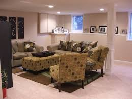 sump pump cover living room traditional with basement living