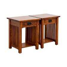 Oak End Tables 87 Mission Mission Nightstand In Oak Tables