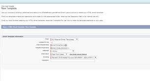 html email templates in salesforce back to basics yohan perera