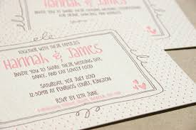 what to put on a wedding invitation blush bespoke custom letterpress printing in the uk wedding