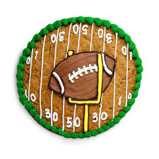 halloween cookie cake father u0027s day football cookie cake design snickerdoodle or