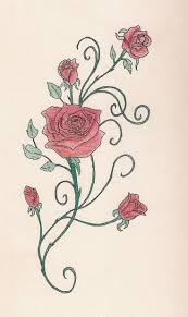 Flowers On Vines Tattoo Designs - 1000 ideas about flower vine tattoos on pinterest tattoo