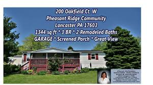 lancaster pa manufactured homes for sale garage screened porch