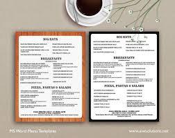 7 best menu templates images on pinterest menu templates bar