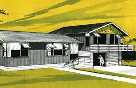 Split Level Floor Plans 1960s 1940 60s Architect Designed Homes Layout And Form Branz Renovate