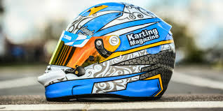 custom motocross helmet painting karting u0027s newest helmet painter karting mag