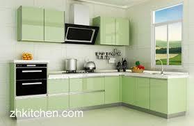 kitchen cabinet design in pakistan green glossy kitchen cabinet design