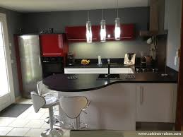 cuisine en u ouverte sur salon couleur moderne pour salon 13 cuisine en u stratifie fonce