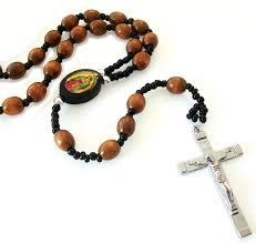 catholic necklace catholic wooden rosary cross necklace for men 30