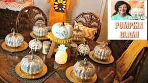 glam pumpkin haul fall home decor tuesday morning u0026 home goods
