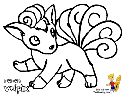 vulpix coloring pages getcoloringpages com