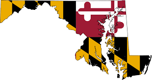 Map Of Md Flag Map Of Maryland Clipart Panda Free Clipart Images