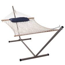 Hammock Chair And Stand Combo Hammock With 12 Feet Steel Stand And Pillow Combo