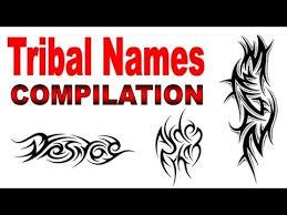 tribal name tattoo ideas tribal names tattoo designs compilation by jonathan harris
