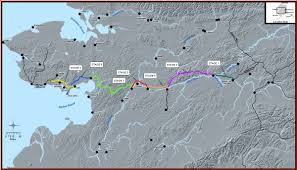 Alaska Road Map by Ak 2 Extension To Nome
