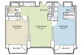 two bedroom two bath apartment floor plans bibliafull com