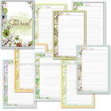 free journaling pages printables journaling homeschool journal