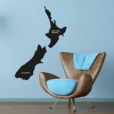 xxl nz kiwiana map chalk blackboard wall sticker funky gifts nz xxl nz kiwiana map chalk blackboard wall sticker
