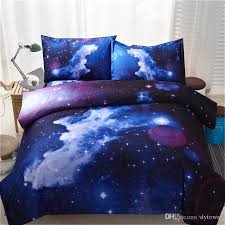 Space Bed Set Home Textile 3d Galaxy Bedding Sets Universe Outer
