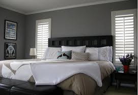 What Accent Color Goes With Grey Grey And Blue Bedroom Charcoal Walls Gray With Dark Furniture
