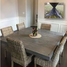 square x base pedestal dining table free plans at ana white com