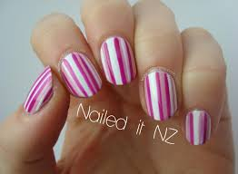 nailed it nz easy striped nail art tutorial on youtube