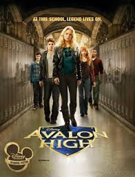Avalon High, un amour légendaire affiche