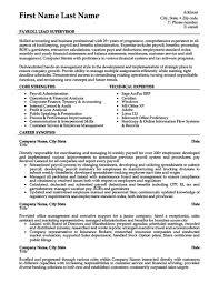 payroll manager resume payroll lead supervisor resume template premium resume sles