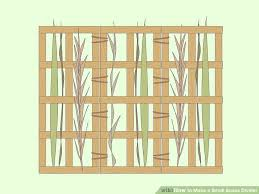 3 ways to make a small space divider wikihow