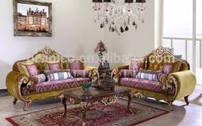 Royal Furniture Living Room Sets Great Retro Royal Furniture Living Room Gold Painting Sofa