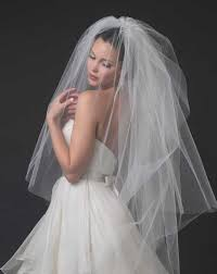 bridal veil wedding veils