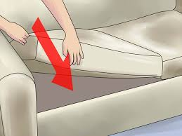 How To Fix Ripped Leather Sofa How To Fix A Sagging Couch 14 Steps With Pictures Wikihow