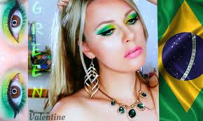 How Many Stars In Brazil Flag Brazilian Makeup Tutorial Brazil Flag Youtube