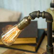 Schlafzimmer Lampe Vintage Vintage Wasser Rohr Beleuchtung Retro Industriellen Schreibtisch