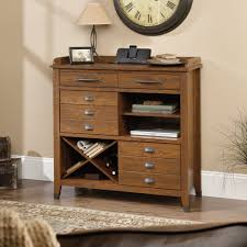 End Table Charging Station by Carson Forge Sideboard 414783 Sauder